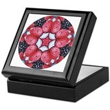 ThreeBerries Mandala Keepsake Box