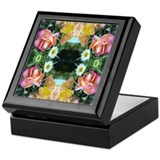 Garden of Delights Mandala Keepsake Box