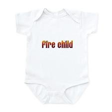 Cute Pyromaniac Infant Bodysuit