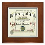 University of Kink Framed Tile