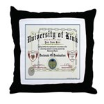 University of Kink Throw Pillow