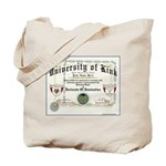 University of Kink Tote Bag