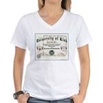 University of Kink Women's V-Neck T-Shirt