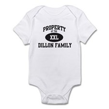 Property of Dillon Family Infant Bodysuit