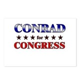 CONRAD for congress Postcards (Package of 8)