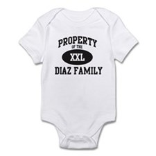 Property of Diaz Family Infant Bodysuit