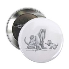 "Neapolitan Mastiff Puppies 2.25"" Button (10 pack)"