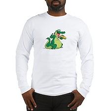 Hungry Alligator Long Sleeve T-Shirt