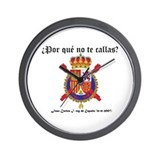 Reloj de pared escudo