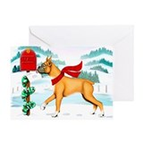 Boxer Mail Greeting Card