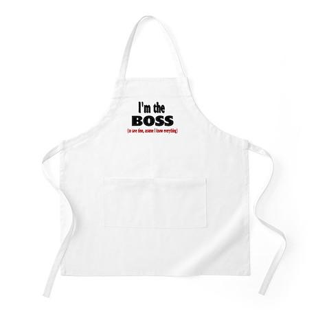 I'm the Boss BBQ Apron