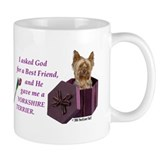 """God Gave Me A Yorkshire Terrier"" Coffee Mug ( Yorkie ) M"