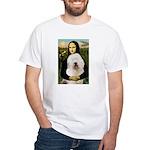 Mona's Old English Sheepdog White T-Shirt