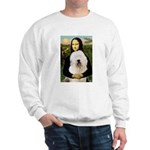 Mona's Old English Sheepdog Sweatshirt
