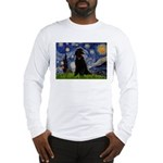 Starry / Std Poodle(bl) Long Sleeve T-Shirt