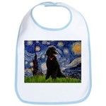 Starry / Std Poodle(bl) Bib