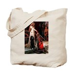 Accolade / Std Poodle(b) Tote Bag