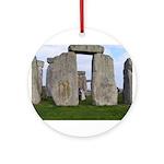 Stonehenge 1 Ornament (Round)