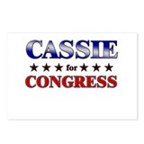 CASSIE for congress Postcards (Package of 8)