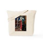 Tristan / Std Poodle(blk) Tote Bag