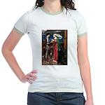 Tristan / Std Poodle(blk) Jr. Ringer T-Shirt