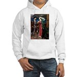 Tristan / Std Poodle(blk) Hooded Sweatshirt