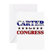 CARTER for congress Greeting Card