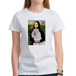 Mona / Std Poodle(w) Women's T-Shirt