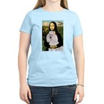 Mona / Std Poodle(w) Women's Light T-Shirt