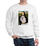 Mona / Std Poodle(w) Sweatshirt