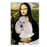 Mona / Std Poodle(w) Postcards (Package of 8)