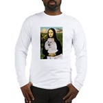 Mona / Std Poodle(w) Long Sleeve T-Shirt