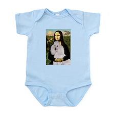Mona / Std Poodle(w) Infant Bodysuit