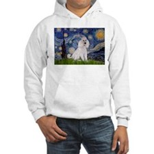 Starry Night / Std Poodle(w) Hoodie
