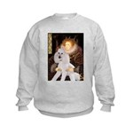 Queen / Std Poodle(w) Kids Sweatshirt