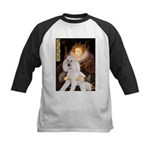 Queen / Std Poodle(w) Kids Baseball Jersey