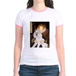 Queen / Std Poodle(w) Jr. Ringer T-Shirt