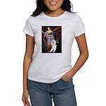 Ophelia /2 Poodles(b&w) Women's T-Shirt