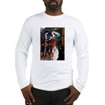 Tristan / 2 Poodles(b&w) Long Sleeve T-Shirt