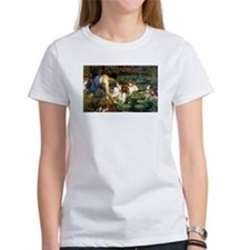 Waterhouse art water nymphs Tee