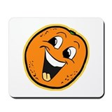Happy Orange Mousepad
