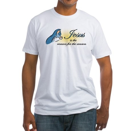 Jesus is the Reason Fitted T-Shirt