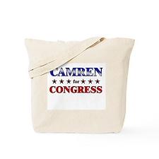 CAMREN for congress Tote Bag