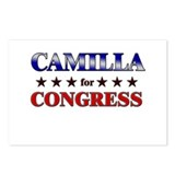 CAMILLA for congress Postcards (Package of 8)