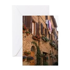 Italian Hill Top Town Card