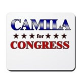 CAMILA for congress Mousepad