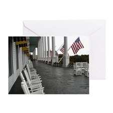 Grand Hotel Porch Card