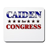 CAIDEN for congress Mousepad