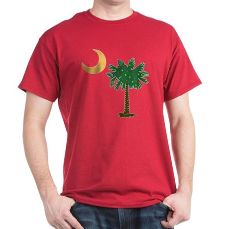 Christmas Palmetto Dark T-Shirt