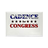 CADENCE for congress Rectangle Magnet (10 pack)